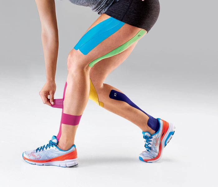 Kinesio Taping, il cerotto colorato per gli sportivi