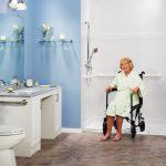 bagno per disabili accessibile