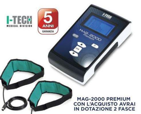 Magnetoterapia Mag 2000 Premium 5 anni di garanzia
